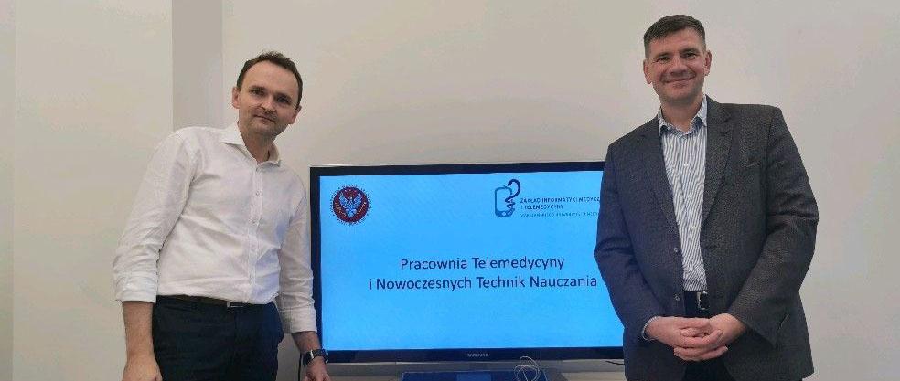Telemedycyna na Warszawskim Uniwersytecie Medycznym
